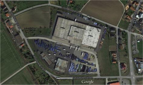 sprintBOX GmbH Standort Grettstadt Halle