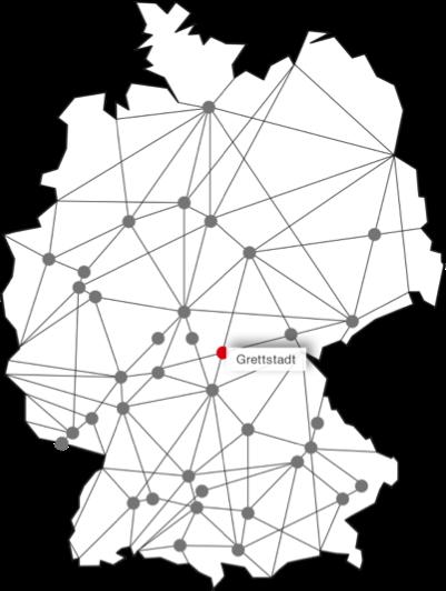 Standort Grettstadt Karte