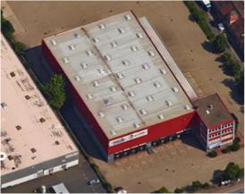 sprintBOX GmbH Standort Nürnberg Halle