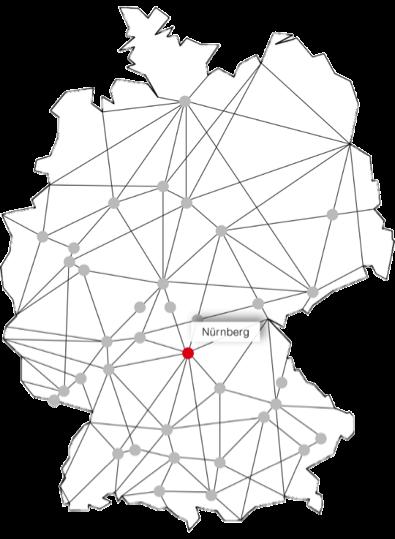 sprintBOX GmbH Standort Nürnberg Karte