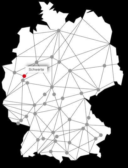 Standort Schwerte sprintbox Landkarte