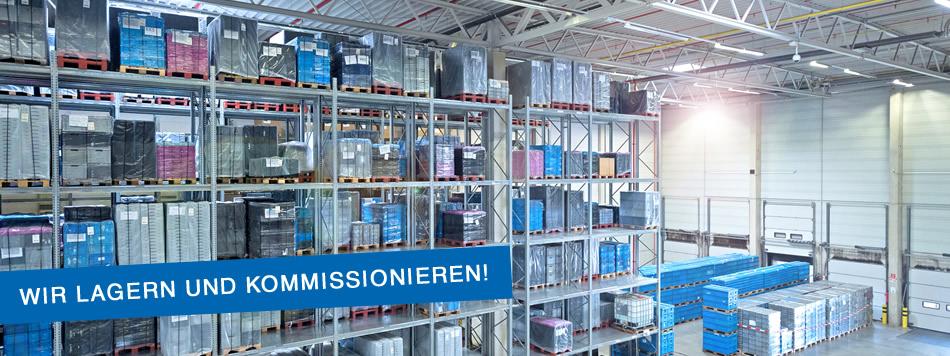 Lagerung und Kommissionierung