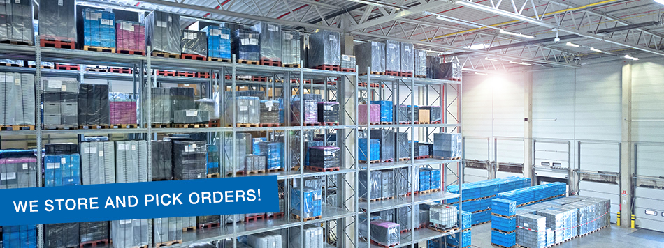 Storage, Order Picking, Packaging Material Set Ordering